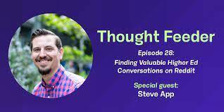Steve App on Thought Feeder Podcast Episode 28